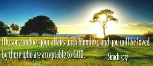 Sirach 3, verse 17