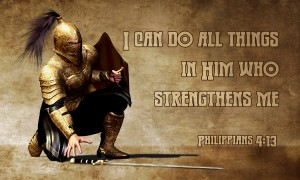 warrior of God - Philippians 4, vers 13
