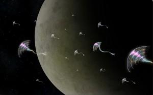 fallen angels in space - virtual