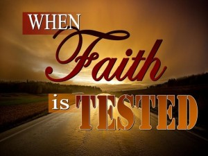 fear not as He is testing you