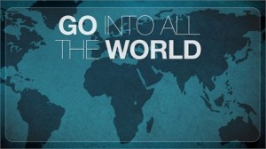 Go into the world - evangelism action