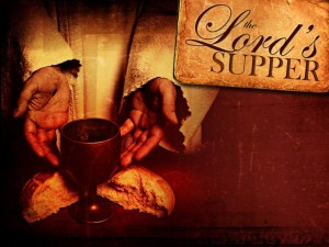 important information about the Lord's Supper