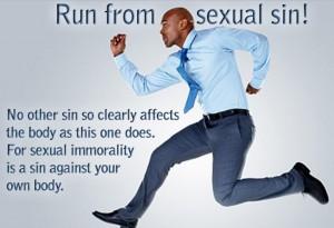 run from sexual sin!