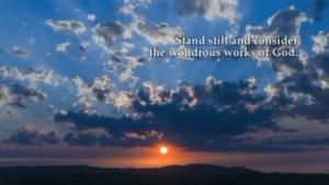 wondrous works of God