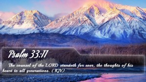 The counsel of the Lord