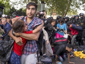 much violence among refugees