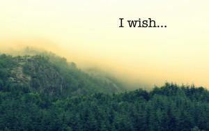 I wish2
