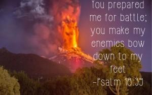 Psalm 18, verse 39