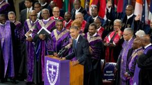 Obama singing Amazing Grace2