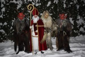 saint Nicholas and Zwarte Pieten, devils