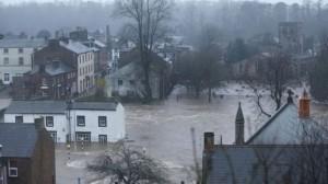 severe flooding North England and South Scotland
