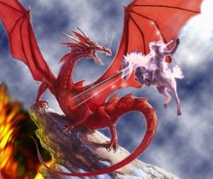 Revelation 20, verse 2 satan, dragon