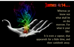 James 4, verse 14