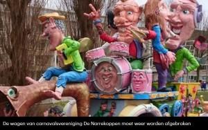carnavalstochten afgelast plus tekst