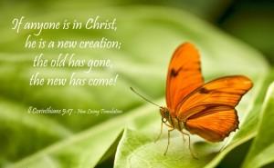 2 Corinthians 5, verse 17