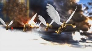 Zorn Gottes Engel mit Schalen