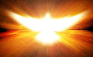 the Holy Spirit becomes active
