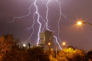 Lightning flashes during a thunderstorm over Monterrey June 9, 2013. REUTERS/Daniel Becerril (MEXICO - Tags: ENVIRONMENT TPX IMAGES OF THE DAY)