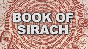 Book of Sirach2
