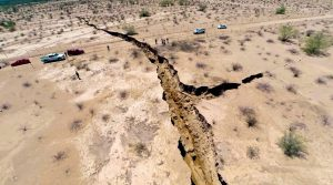 giant earth crack