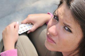 woman wrong-choice-drugs