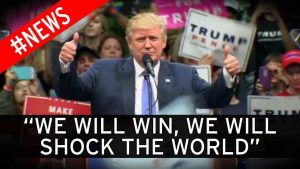 Donald Trump won the elections