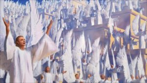angels praising God
