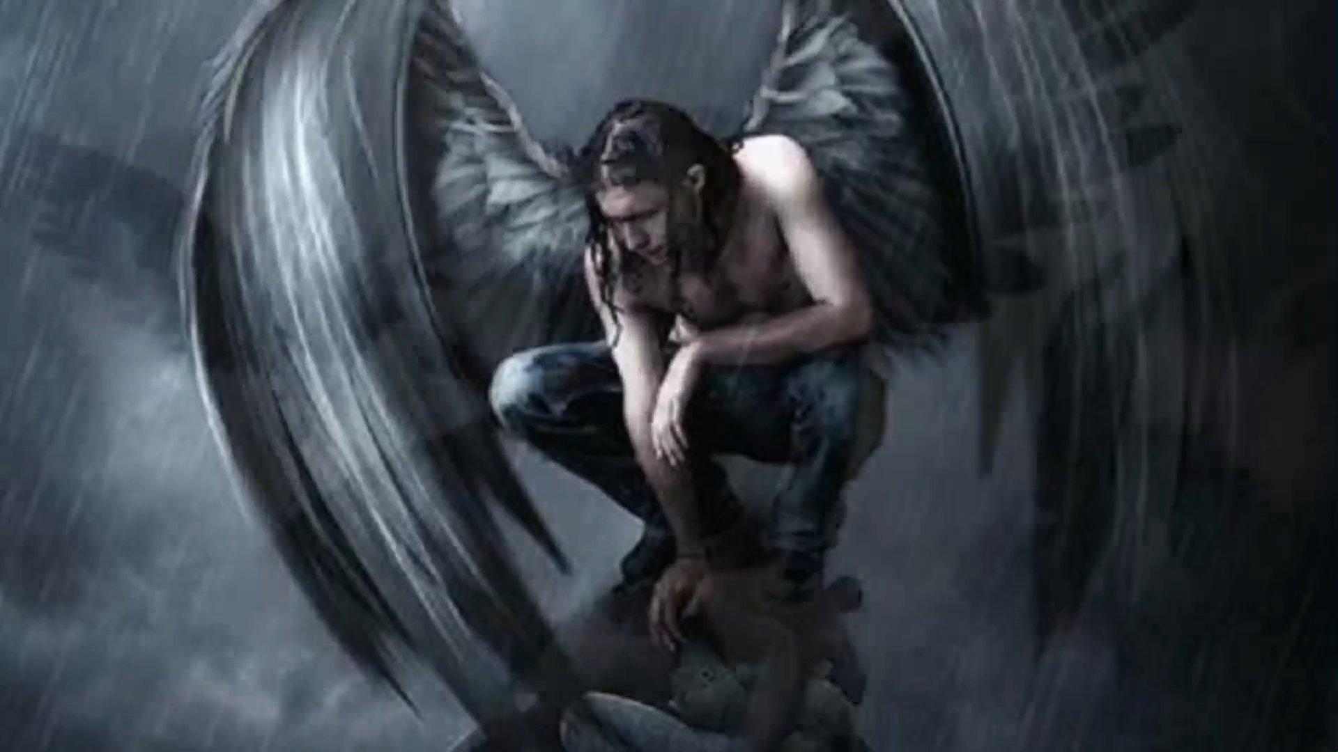 Есть картинки падший ангел