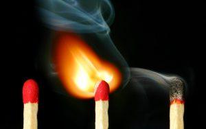 burning-match