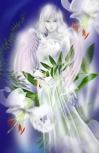 angel-with-flowers