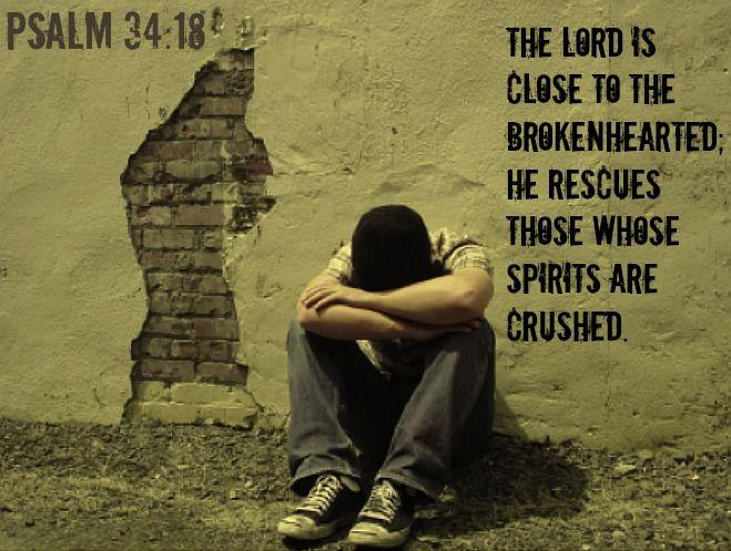 God restores the Crushed Spirit